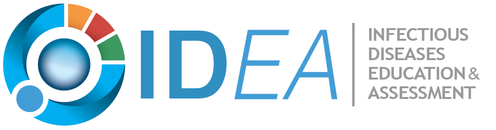 Infectious Diseases Education and Assessment (IDEA) logo